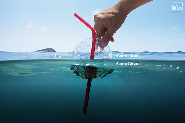 Plastic Waste Advertising