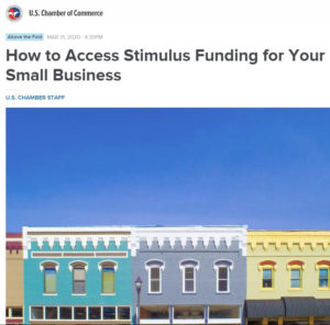 COVID-19 Stimulus Funding for small businesses